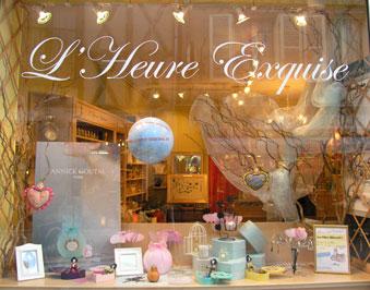 L 39 heure exquise la boutique actualit for Deco st valentin vitrine